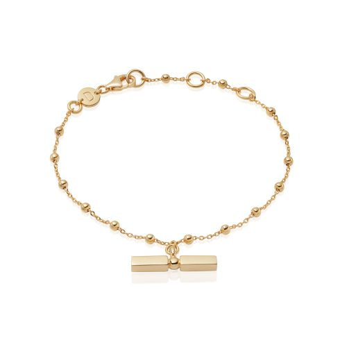 2315e28f1 Daisy London – Stacked T-Bar Bracelet
