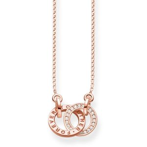 Thomas Sabo – Glam & Soul Together Forever Rose Gold Plated Necklace
