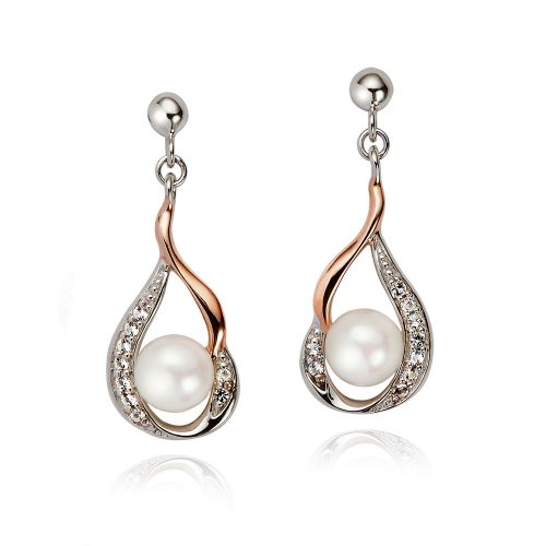 Jersey Pearl Earrings