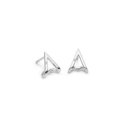 Ro Copenhagen Modern Heart Earrings