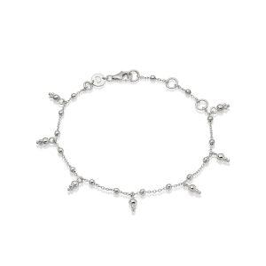 Daisy London – Stacked Beaded Charm Bracelet