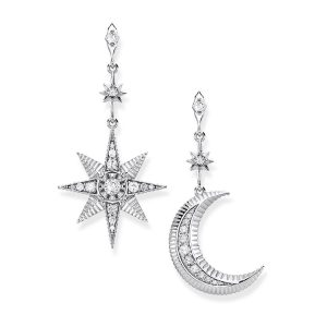 Thomas Sabo – Royalty Star and Moon Earrings