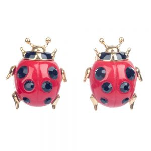 Vivienne Westwood – Ladybird Earrings Gold
