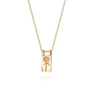 Daisy London – Rose Necklace Gold