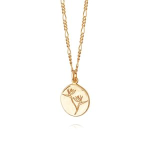 Daisy London – Bird of Paradise Necklace Gold