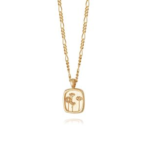 Daisy London – Wild Daisies Necklace Gold