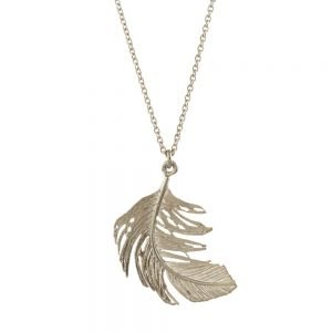 Alex Monroe – Big Feather Necklace