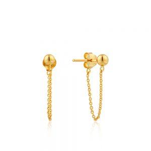 Ania Haie – Chain Gold Earrings