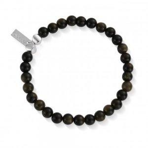 ChloBo – Obsidian Ball Bracelet