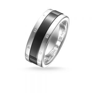 Thomas Sabo – Black Ceramic Ring 64