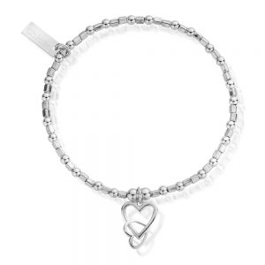 ChloBo – Interlock Love Heart Bracelet
